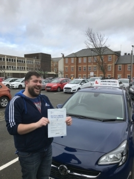 ANOTHER FIRST TIME PASS!! Big Smiles 😀😀 from John Stewart today! And so there should be, he's just passed his test today at Blyth with our instructor Dave Sproat and only 3 minors!! Call us and be next on 0800 043 2242 or  visit johnmichaeldrivinglessons.co.uk to book!  #drivinglessons #newcastle #wallsend #heaton #jesmond #northshields #whitleybay #blyth #cramlington #bedlington #gosforth